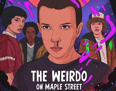 Poster Design for Netflix - Stranger Things
