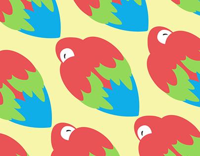 Padronagens de aves brasileiras