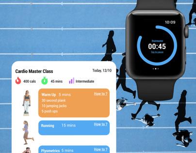 Dail UI #041 - Workout Tracker