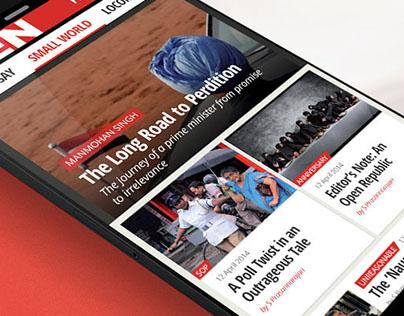 OPEN Magazine Mobile App