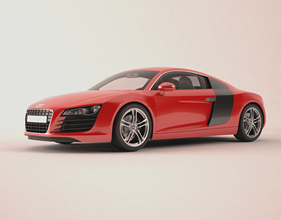 Audi R8 CGI Project