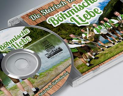 CD-Gestaltung für Blaskapelle