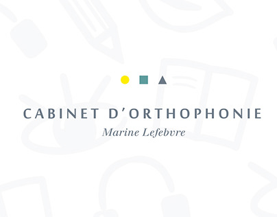 Cabinet d'orthophonie.