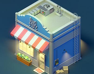 Pixel Store