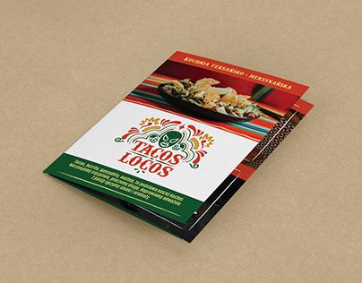 Tacos Locos - folder