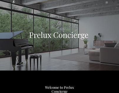 Prelux Concierge Website