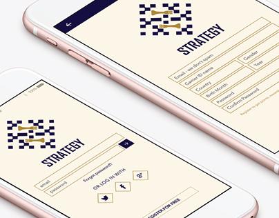 Chess App / Ui Design