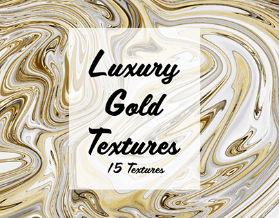Luxury Gold Swirl Texture Pack