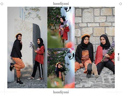 Handiyani - Tencel Scarf - Photos