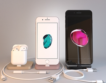 Apple Collection iPhone7 iPhone 7 Plus AirPods