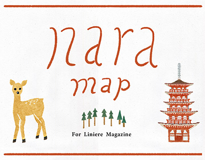 Work | NARA map for Liniere Mag