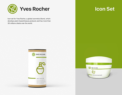 Yves Rocher Icon Set