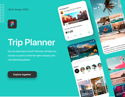 Newway - Travel Planning App