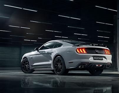 Ford Mustang Black Shadow | MIAGUI