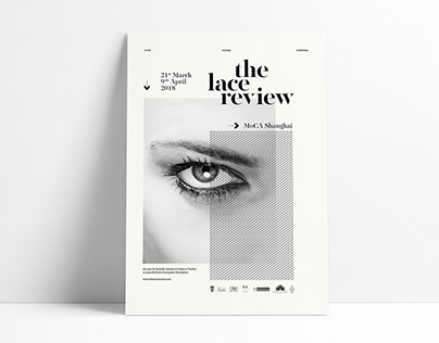 the lace review // Graphic design