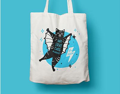Gráfica 6ª edición del We Love Cats Market