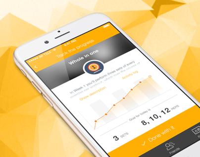 Habit Forming Fitness Mobile App - SpoFit