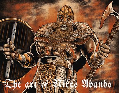 Valhalla Bloodlust Cover Art Design Project