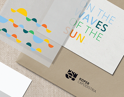 New brand for the City of Koper (sun and waves)