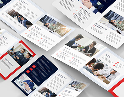 IT Solutions – Brochures Bundle Print Templates 5 in 1