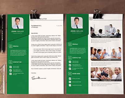 Resume Bundle PSD