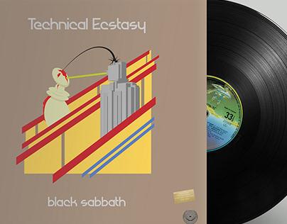 Black Sabbath ALBUM COVER REDESIGN
