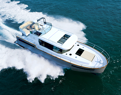 Scandinavia 1250 Motor Yacht