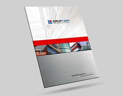 Catalog Design & Shooting / Grup Yapı Building