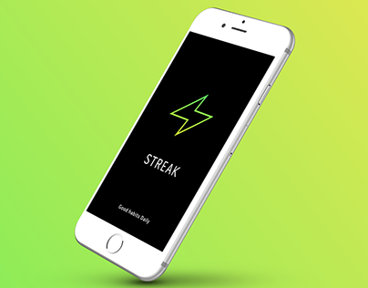 Streak - Good Habits Daily - App Design