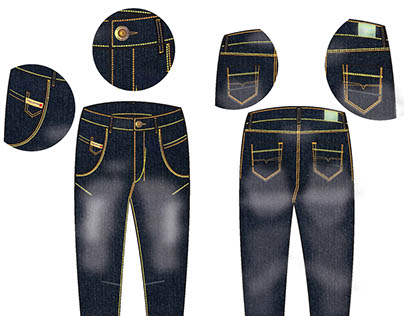Jeans Presentation & Spec Flats