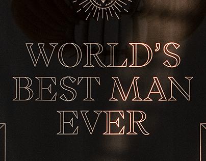 Best Man Poster
