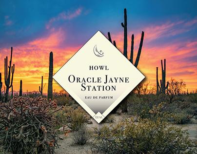 Oracle Jayne Station Label Design