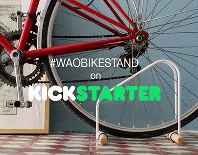 WAO Bike Stand on kickstarter!