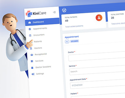 KiviCare   Free Clinic and Patient Management Plugin