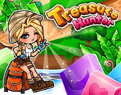 Game UI: Treasure Hunter