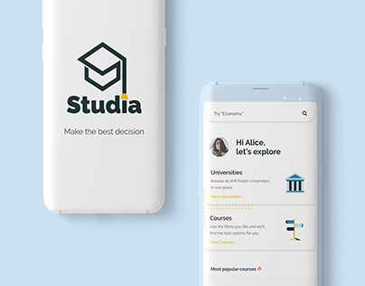 Studia App - UI/UX - Capstone Project