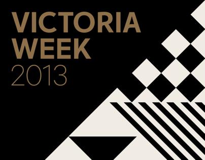 Victoria Week Brand Identity