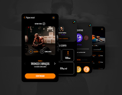 UI Design - Fitness App