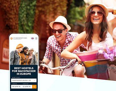 UI/UX   Web Design   Backpacker Hostels in Europe