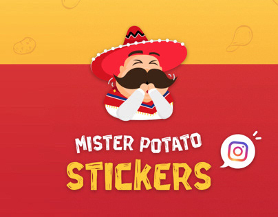 Instagram Stickers | Mister Potato Malaysia