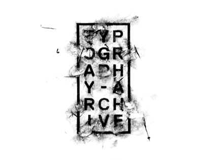 TYPOGRAPHY ARCHIVE // Buffetti Collezione Image 2017