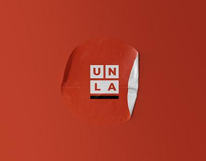 Universidad Nacional de Lanús - Visual identity