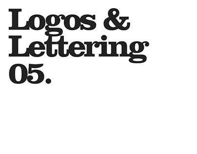Logos and Lettering
