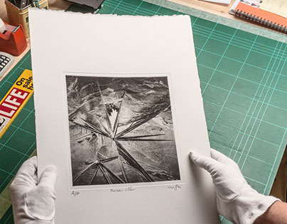 Hybrid Approach to Photogravure on Copperplate