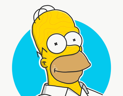 Crazy Homer