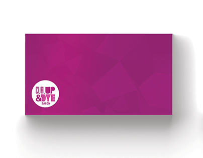 Curl Up & Dye Logo + Business Card
