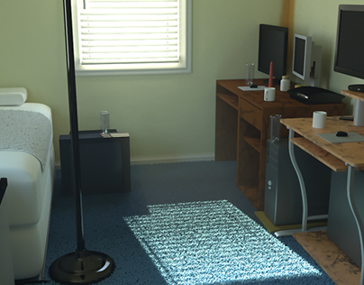 Original Bedroom Project. Vray version