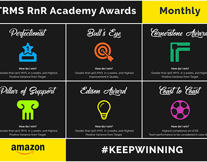 RnR Awards Poster for TRMS Hyderabad
