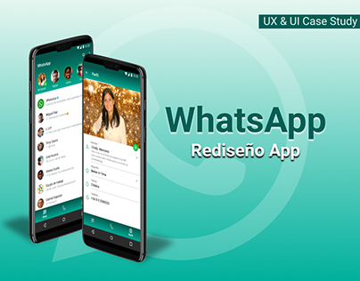 Rediseño App | WhatsApp | Coder House 2021.