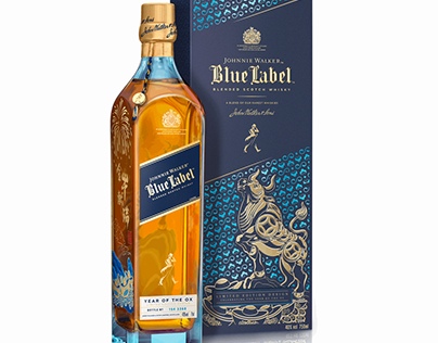 JOHNNIE WALKER |BLUE LABEL YEAR OF THE OX